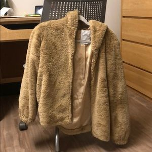 Urban Outfitters Faux Fur Coat